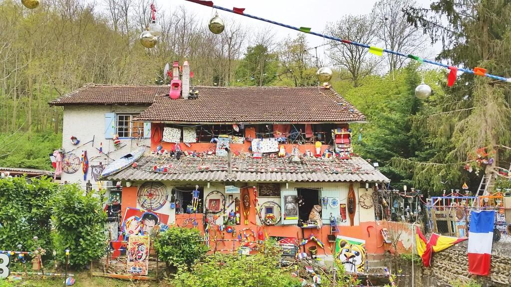 maison Arc en Ciel de Christian Guillaud - week end insolite dans la Drôme