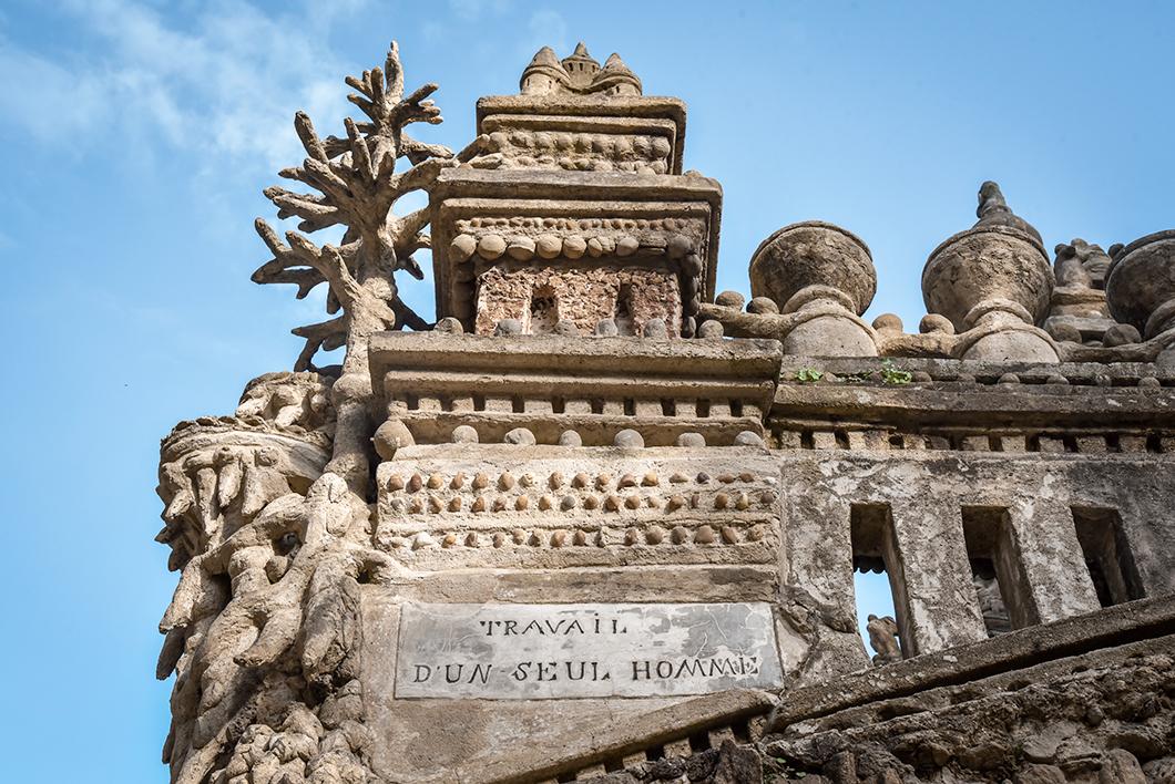 Visite du Palais Idéal du Facteur Cheval dans la Drôme