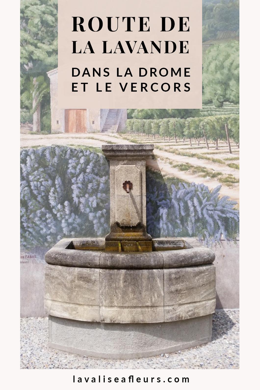 Route de la lavande dans la Drôme et le Vercors