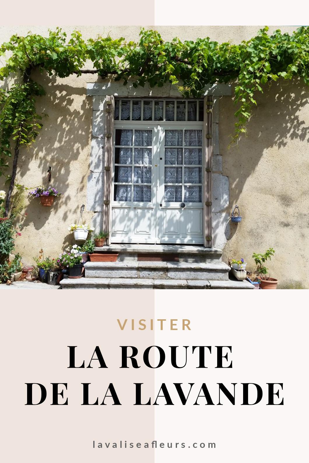 Visiter la route de la lavande en France