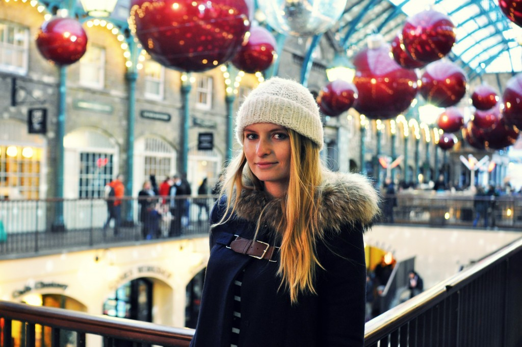 Découvrir Covent Garden à Noël, activité à faire à Londres