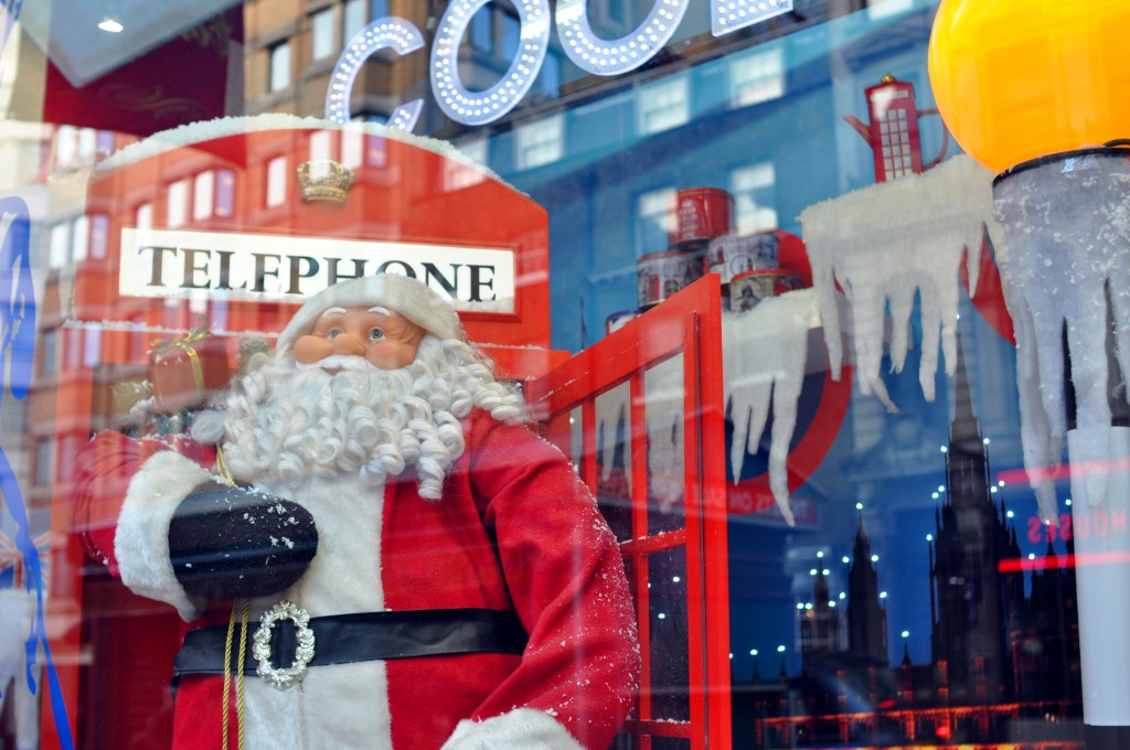 Faire du shopping de Noël à Londres