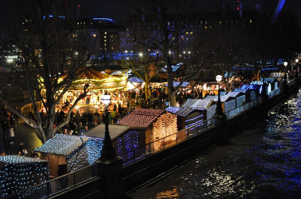 Faire les marchés de Noël de Londres