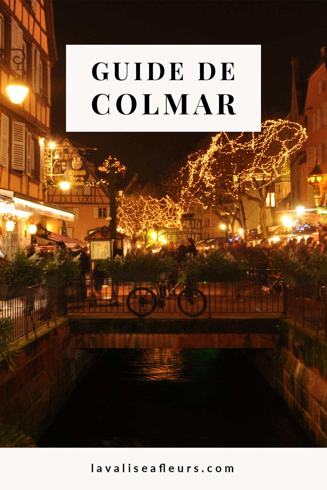Guide de Colmar et de son marché de Noël