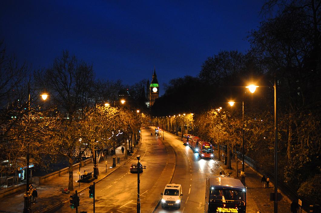 Westminster à Noël
