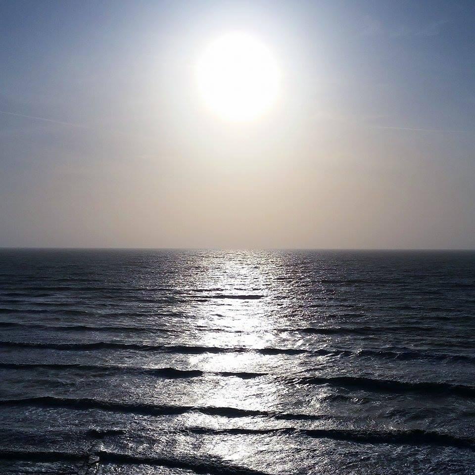 Coucher de soleil à la Baie de Somme