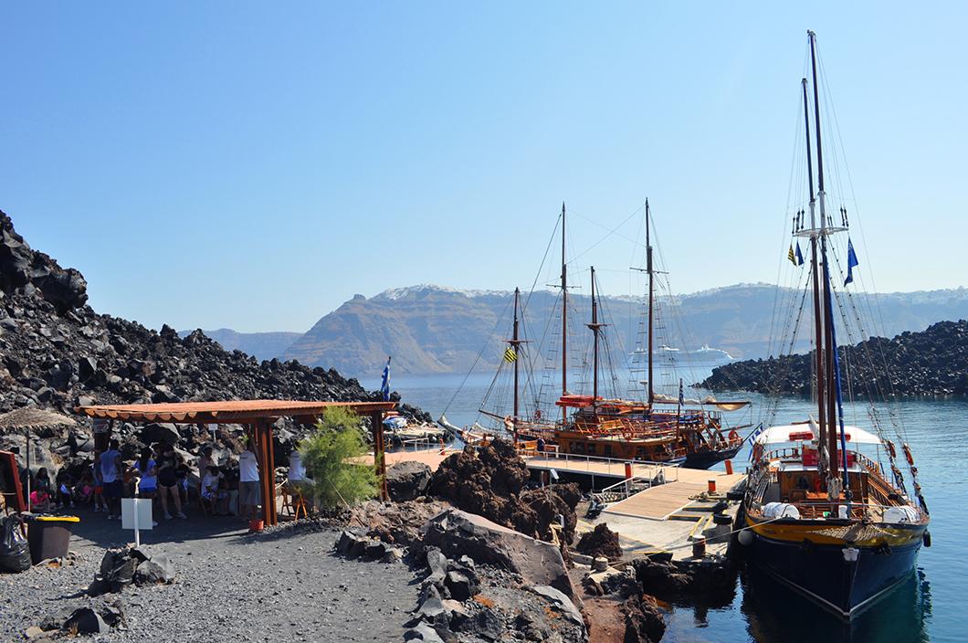 santorin voyage