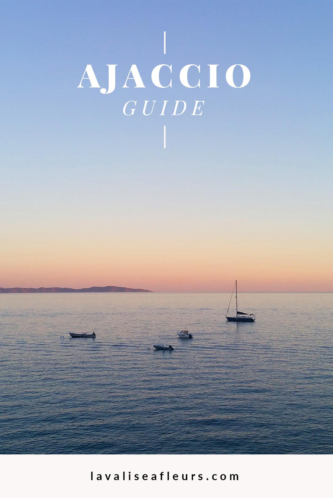 Guide d'Ajaccio en Corse