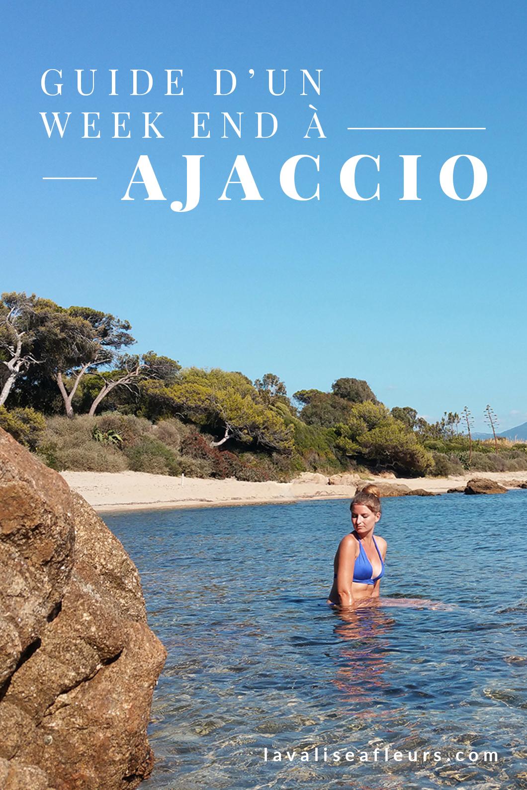 Guide d'un week end à Ajaccio