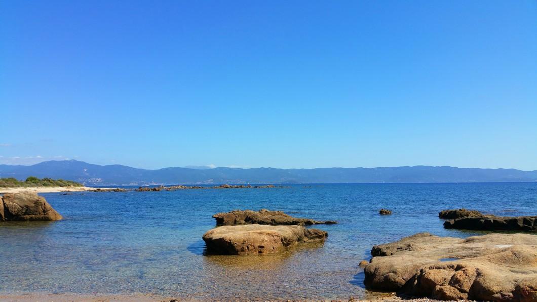 jolies plages à Ajaccio