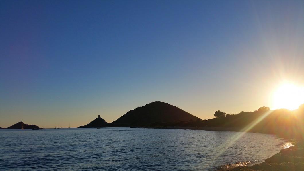 Coucher de soleil sur l'Archipel des Sanguinaires