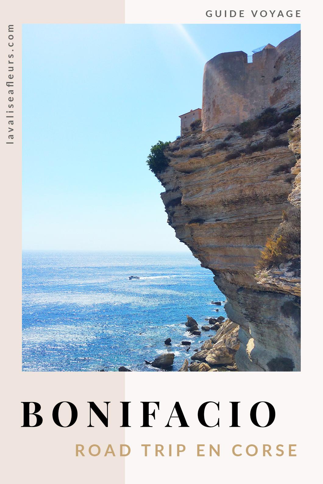 Bonifacio, road trip en Corse