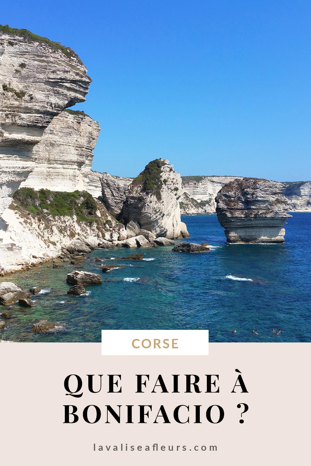 Que faire à Bonifacio en Corse ?
