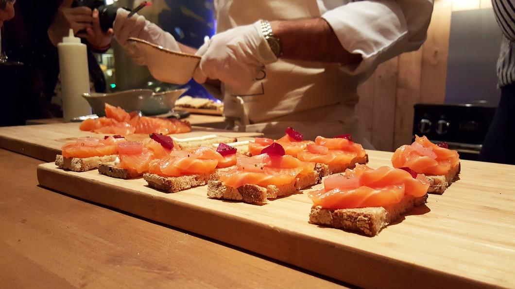 saumon maison laks