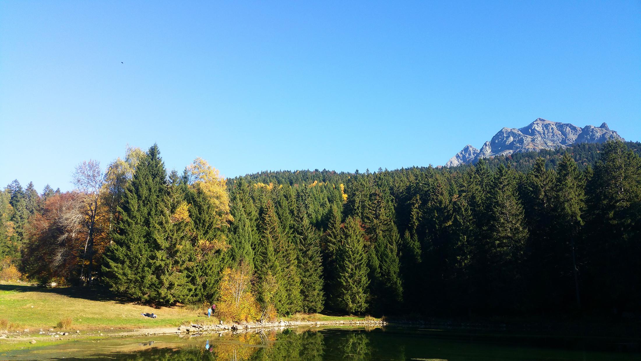 lac de freydières grenoble