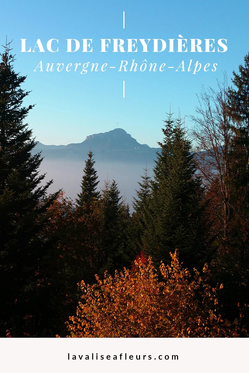 Lac de Freydière en Rhône Alpes