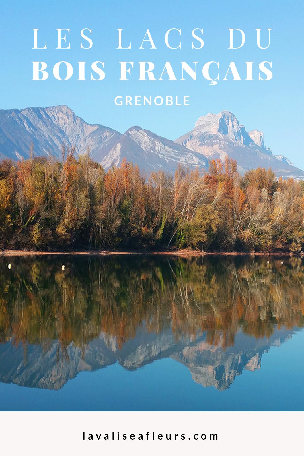 Les lacs du bois français, incontournables à Grenoble