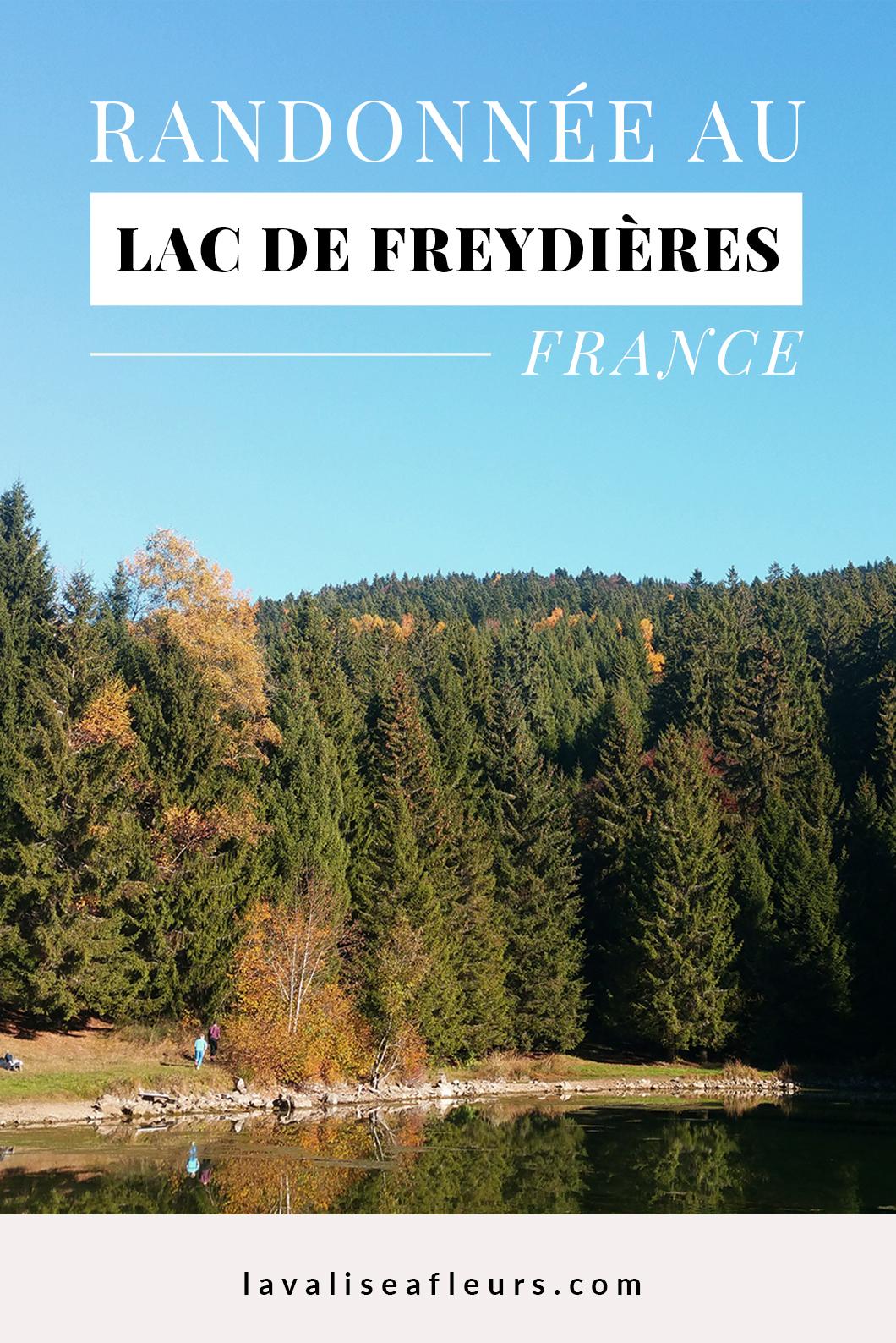 Rando au Lac de Freydière en France
