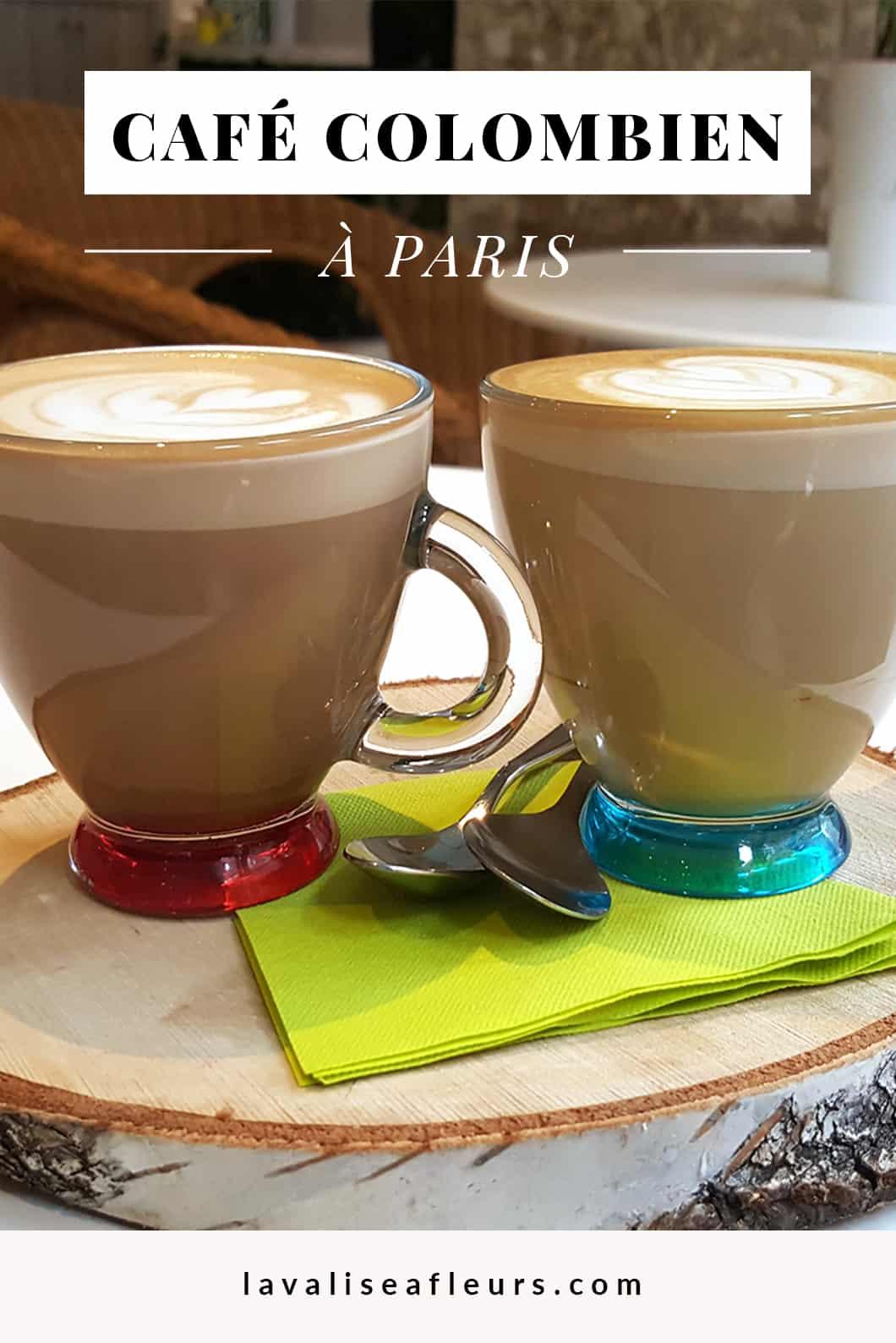 Boire un café colombien à Paris au Delirio