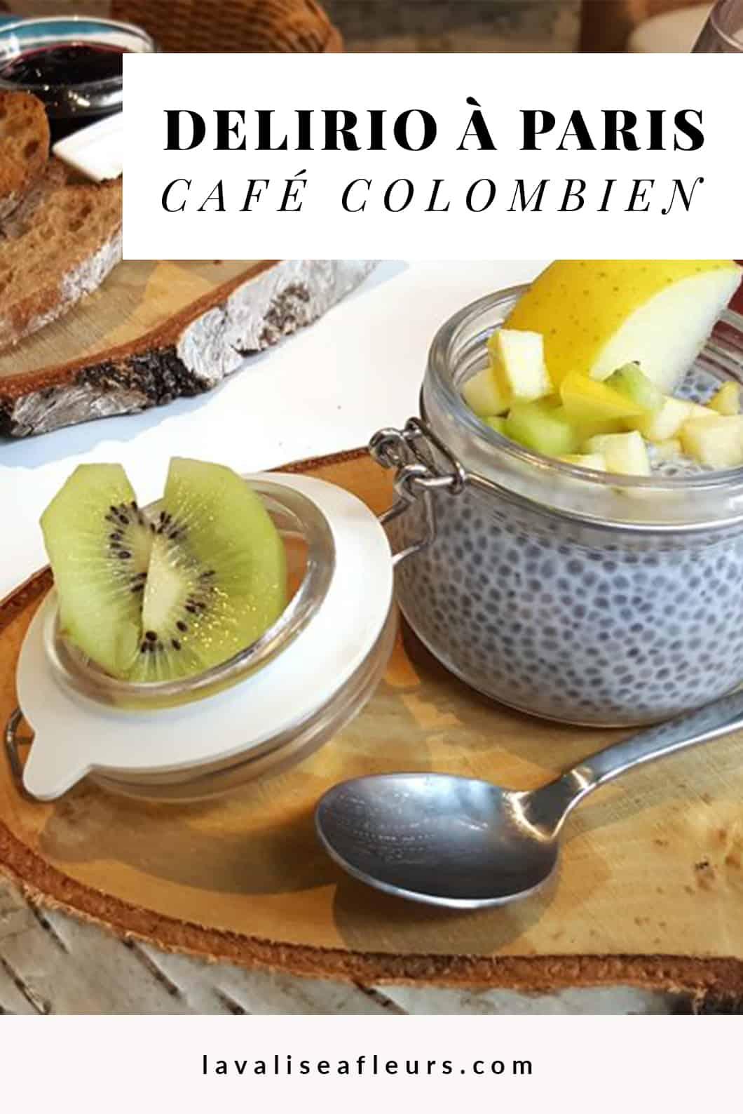 Manger au Delirio Café colombien à Paris