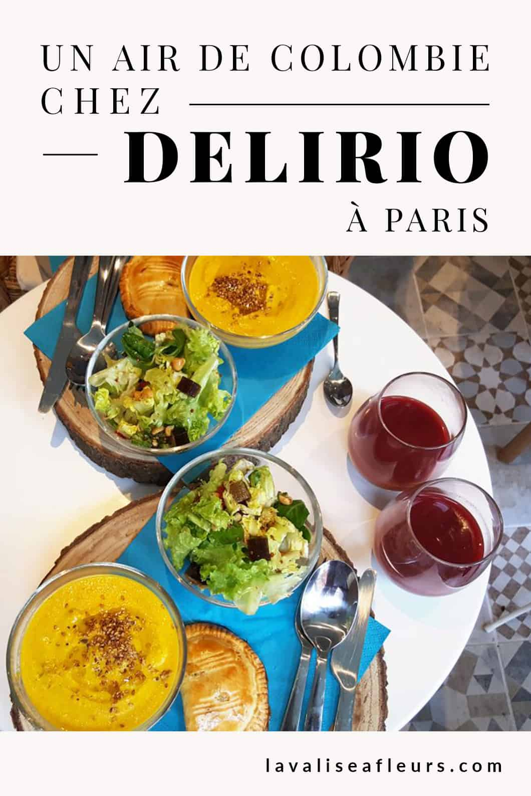 Un air de Colombie chez Delirio à Paris