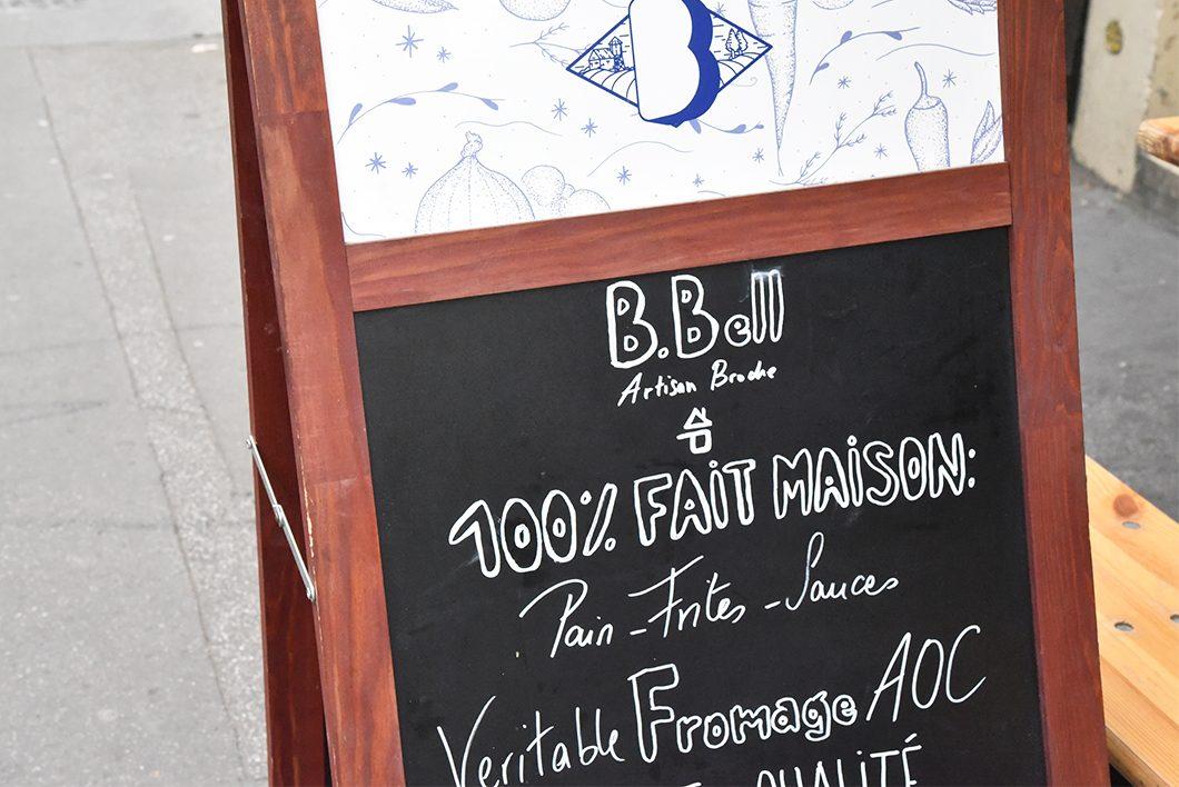 B.Bell, top des kebab de luxe à Paris