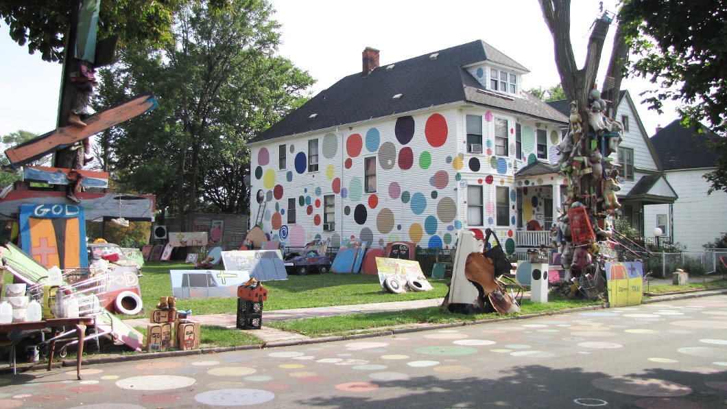 Road trip aux Etats Unis - Road trip USA - Heidelberg Project