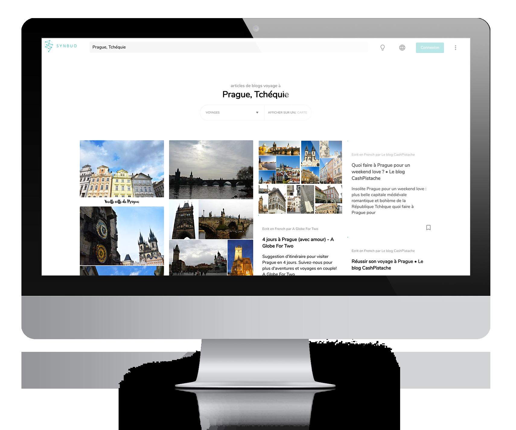 Synbud, le moteur de recherche des blogs de voyage