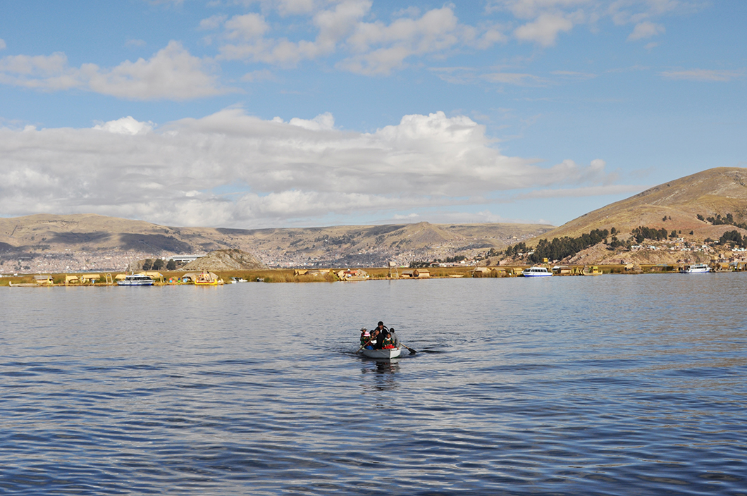 Iles flottantes des Uros - lac Titicaca - road trip Pérou