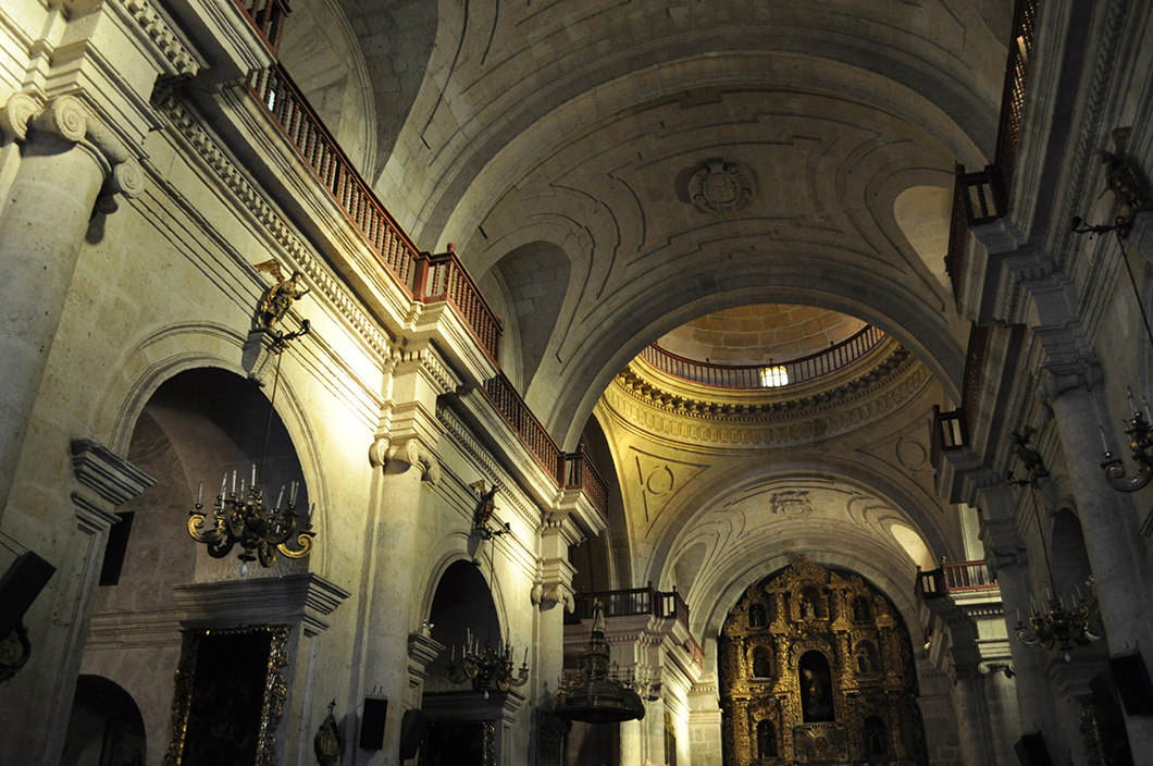 la Iglesia y el Claustros de La Compañia - Arequipa - Road trip au Pérou