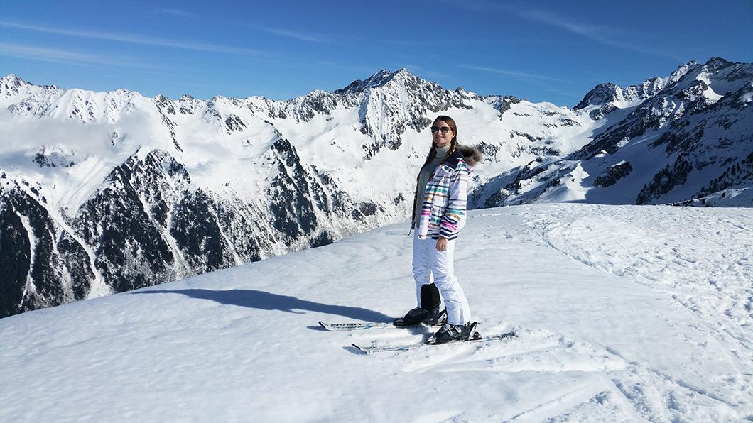 Skier au Collet d'Allevard