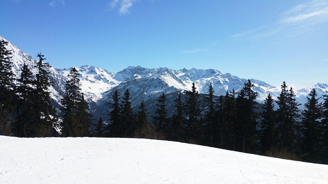 Collet d'Allevard dans le Alpes