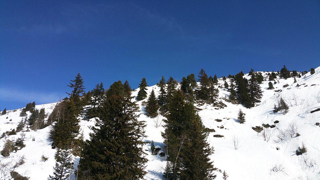 Collet d'Allevard, petite station de ski en France