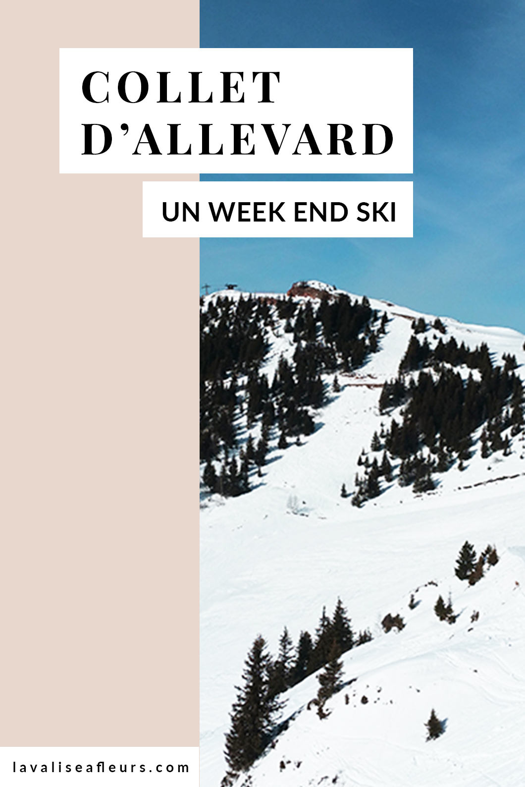 Un week end ski au Collet d'Allevard