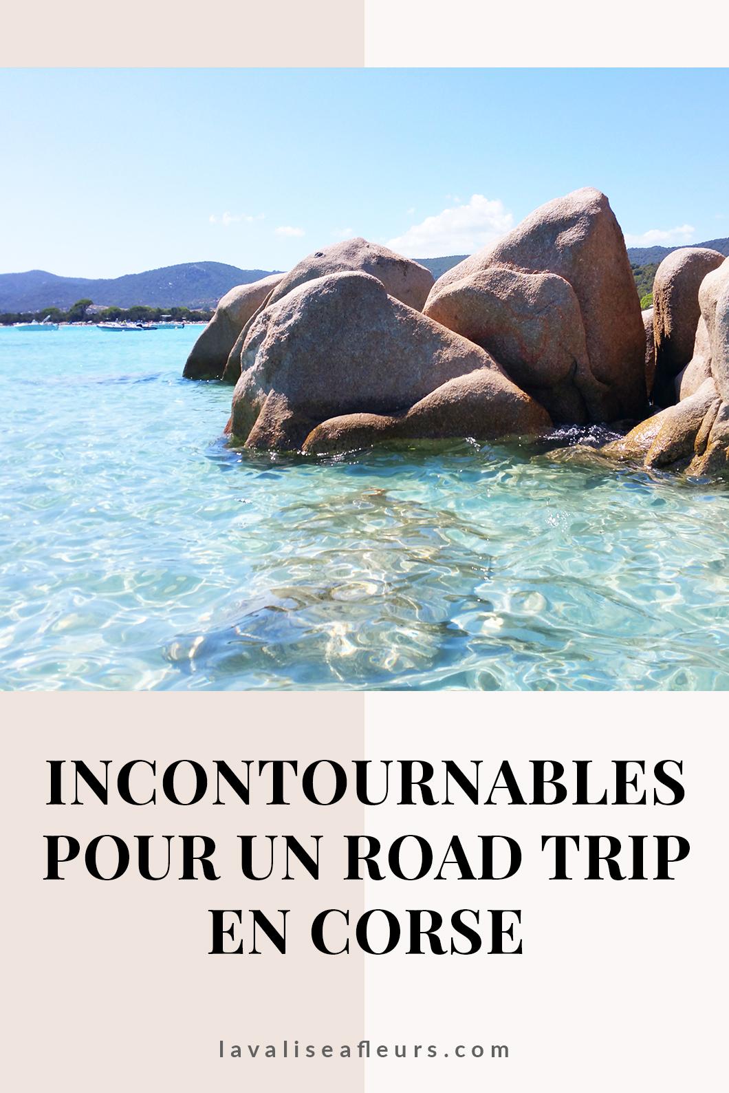 Incontournables pour un road trip en Corse