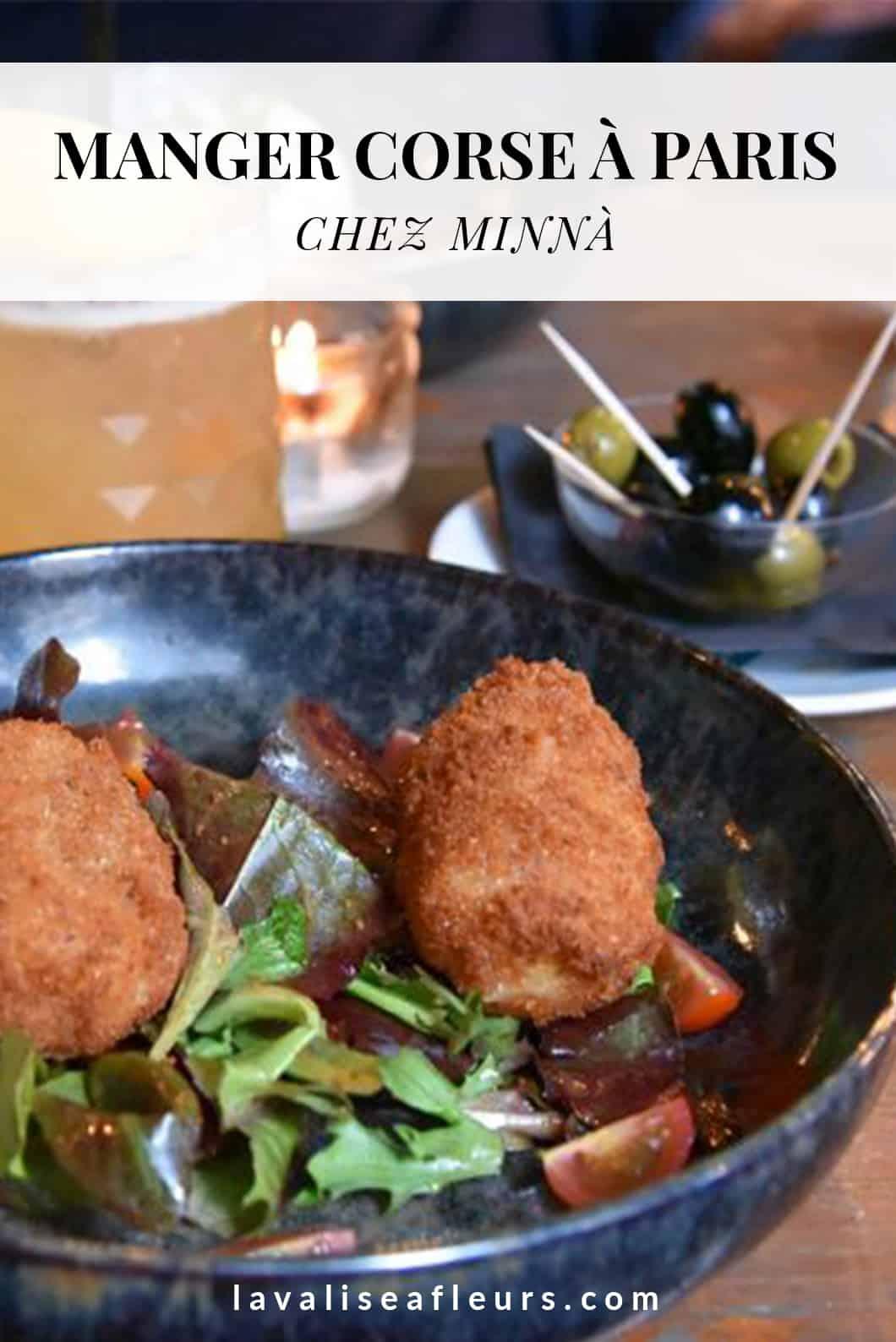 Chez Minnà, meilleur restaurant corse à Paris