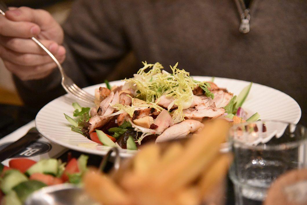 Restaurant Bleu à Amsterdam