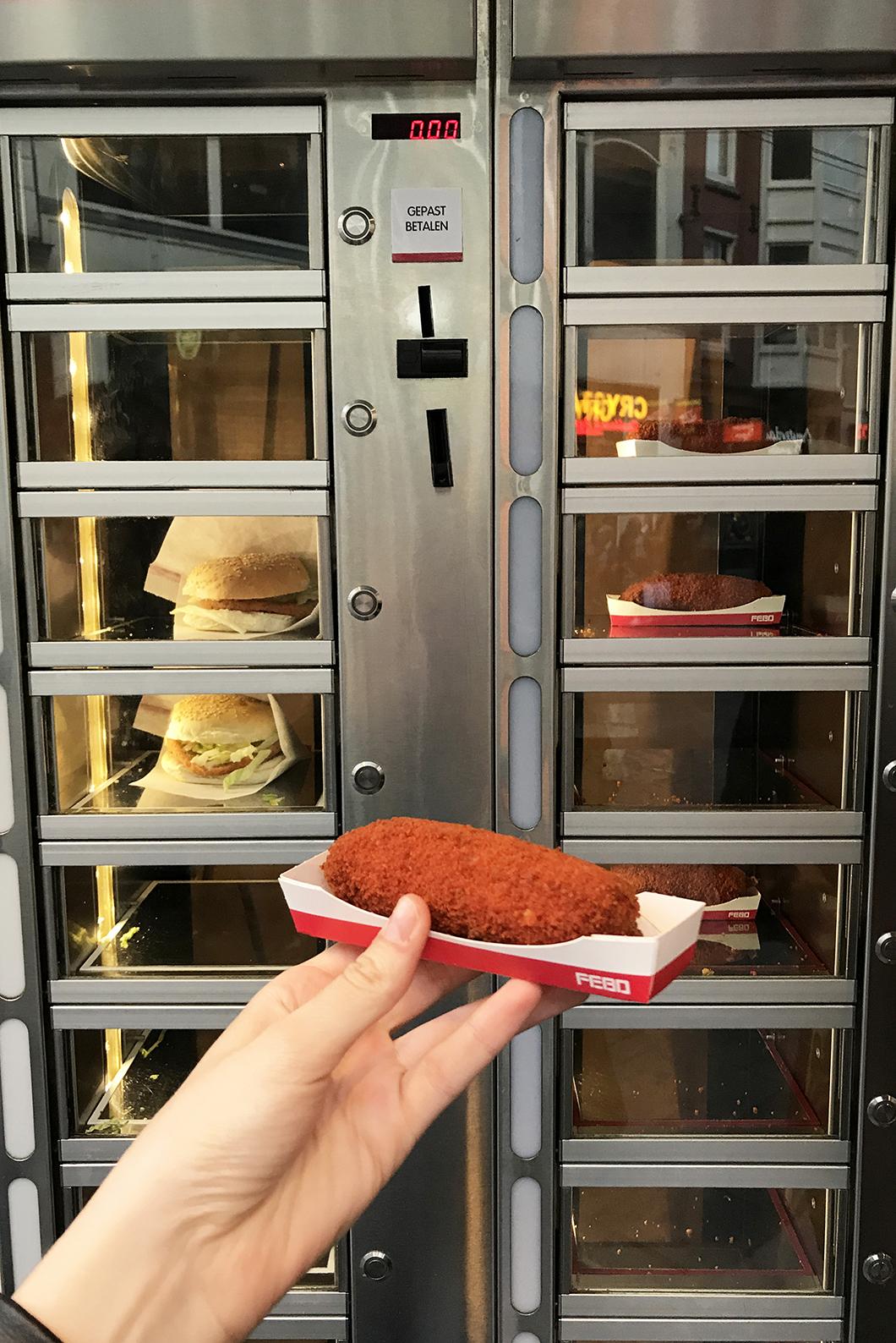 FEBO - street food Amsterdam