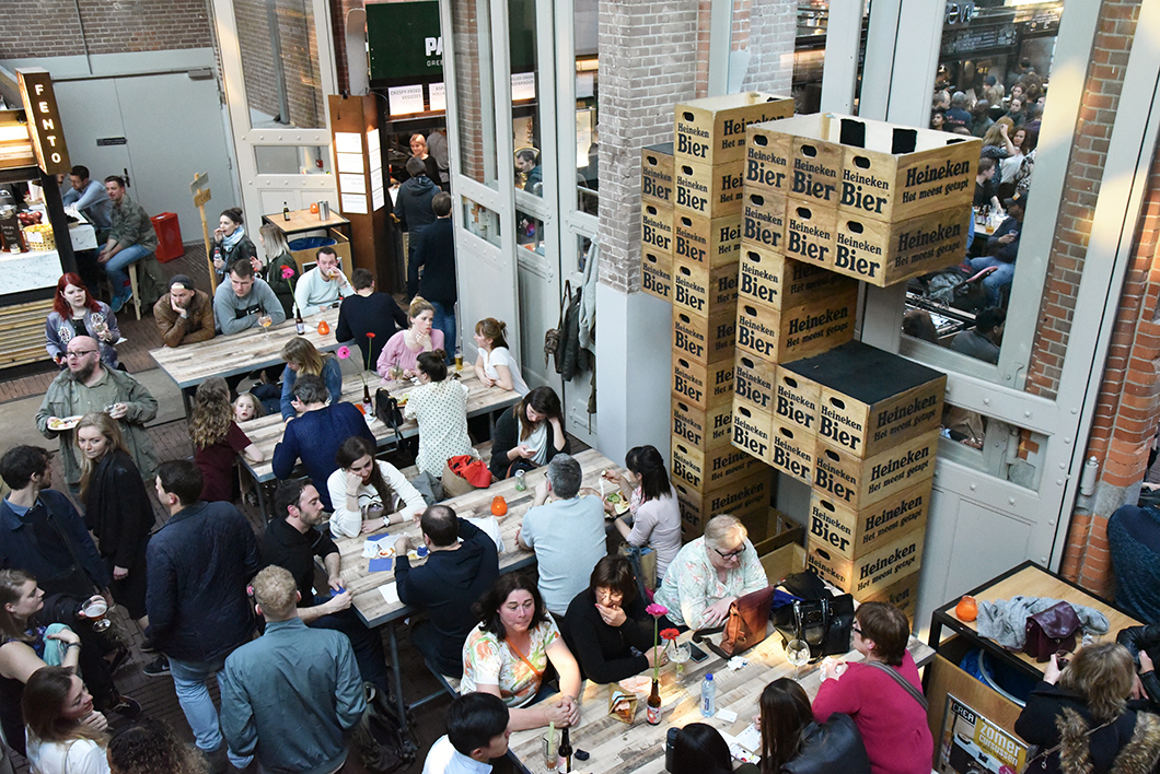 Foodhallen - marché à Amsterdam