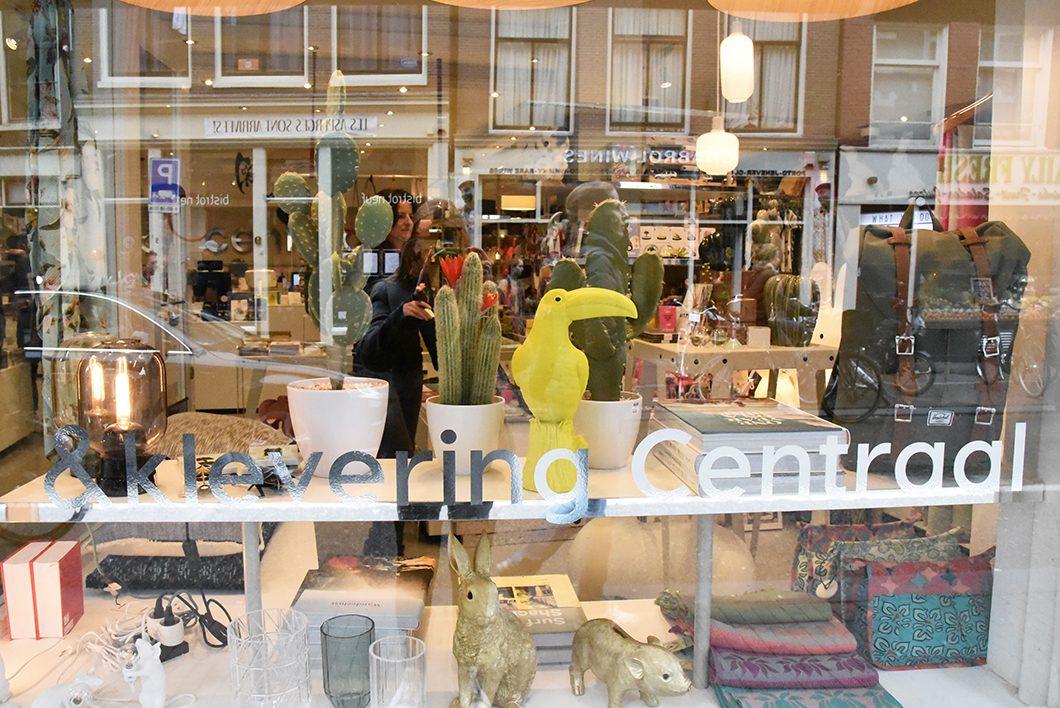 Klevering Centraal, boutique de décoration à Amsterdam