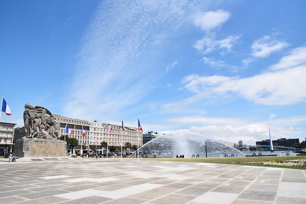 Bassin du Commerce - Le Havre