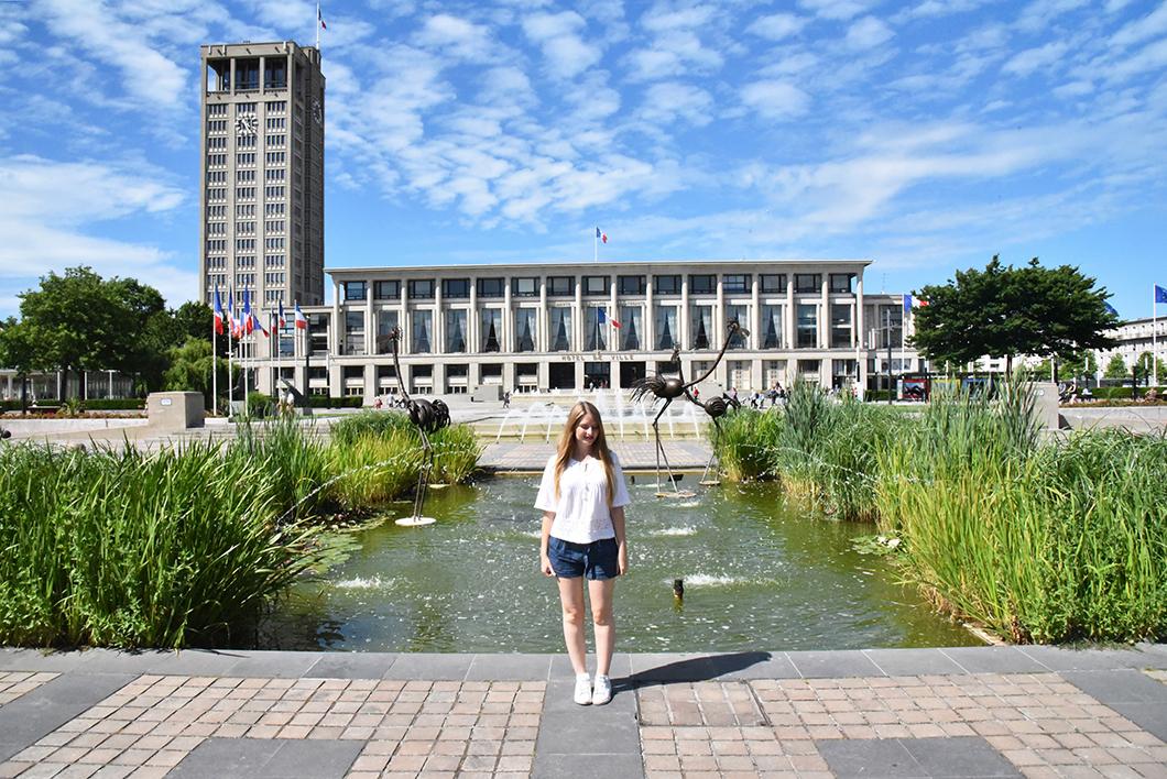 Place de l'Hôtel de ville - Le Havre