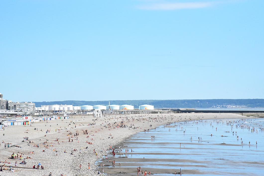 Plage Le Havre