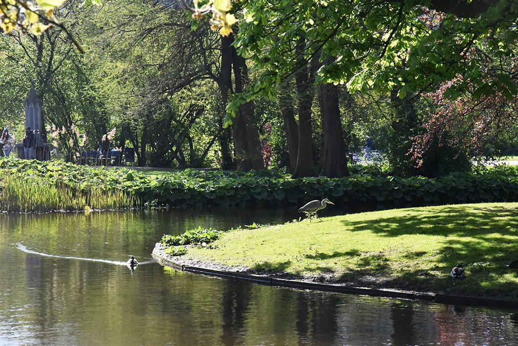 Visiter d'Amsterdam et du Vondelpark