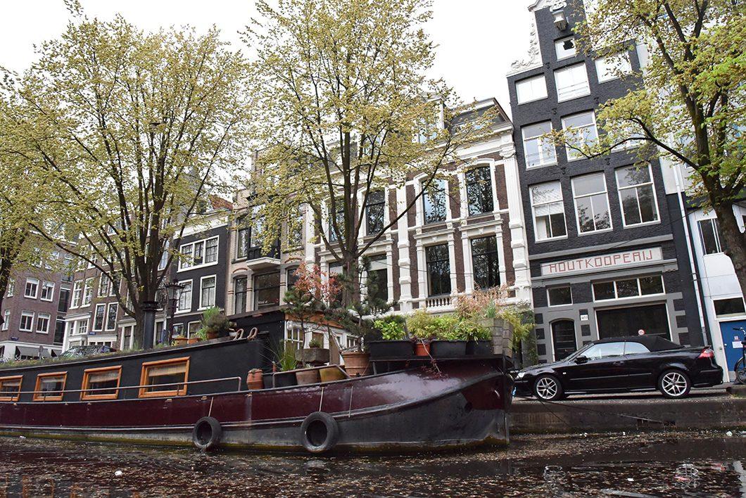 Visite d'Amsterdam en bateau