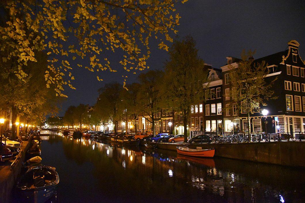 Une nuit à Amsterdam