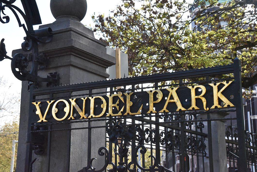Visiter le Vondelpark, activité à Amsterdam