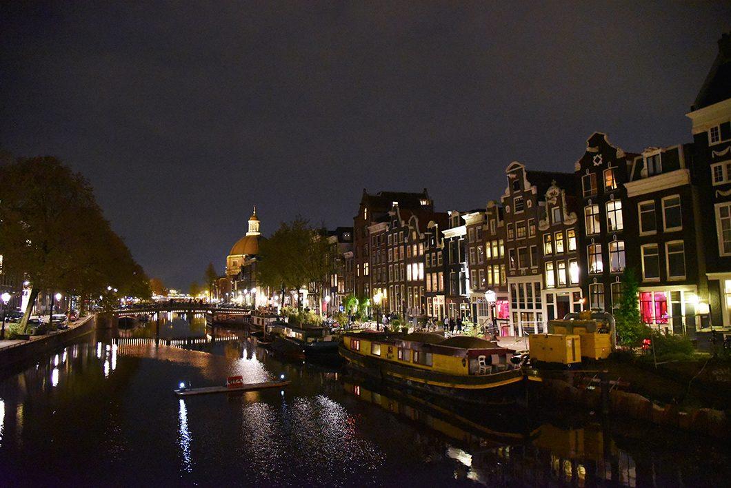 Amsterdam, visite de nuit