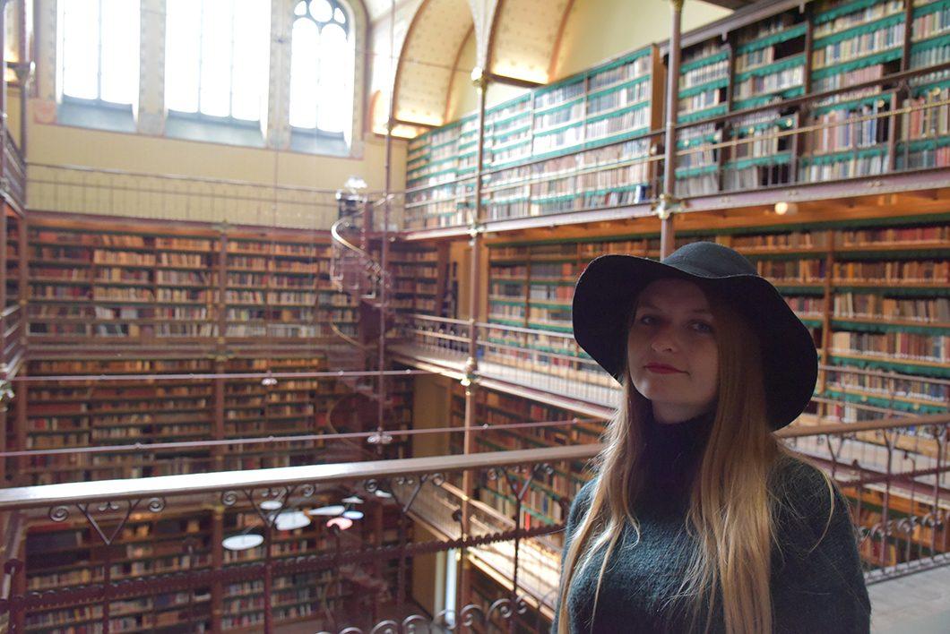 La plus belle bibliothèque de Amsterdam