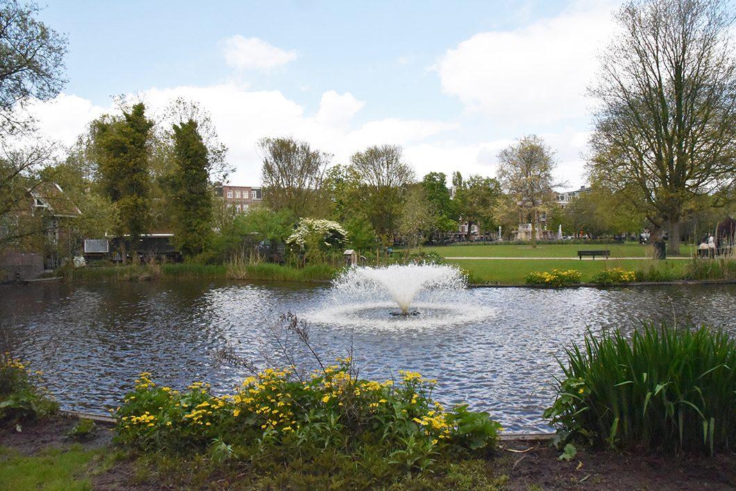 Visiter le parc de Sarphatipark
